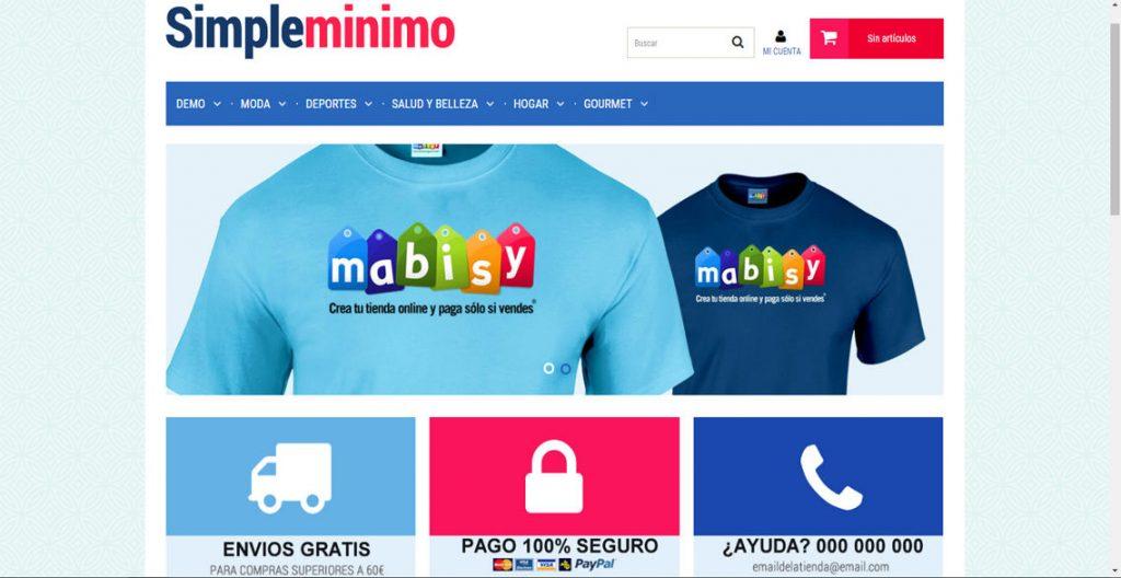 tiendas online mabisy