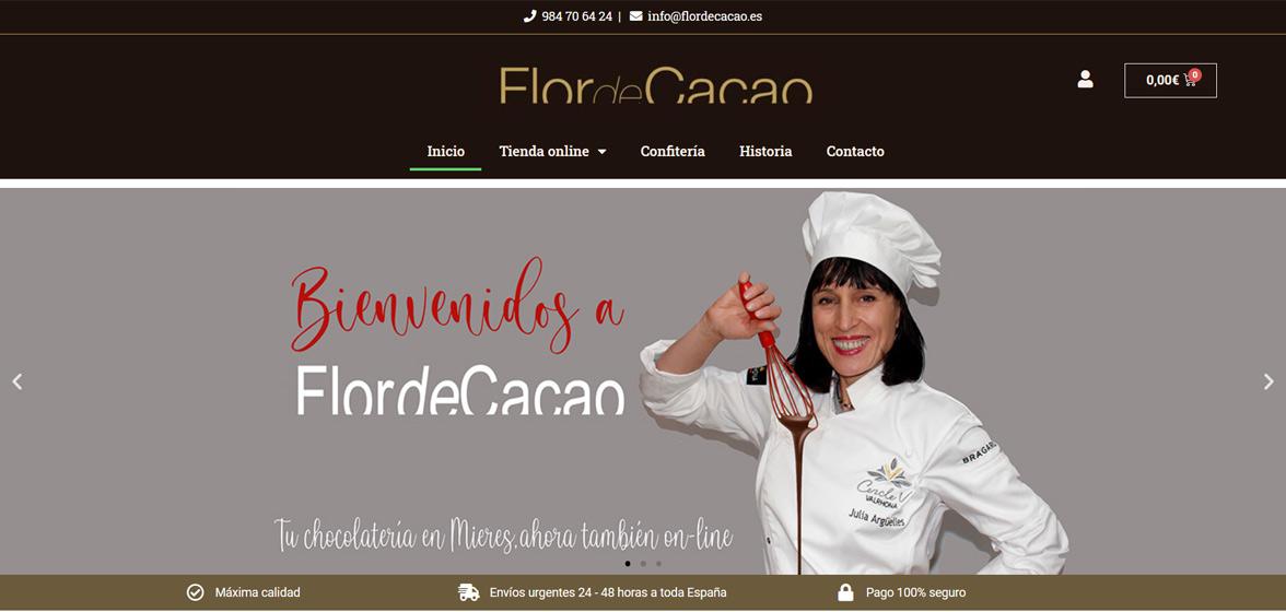 Tienda online Flor de Cacao