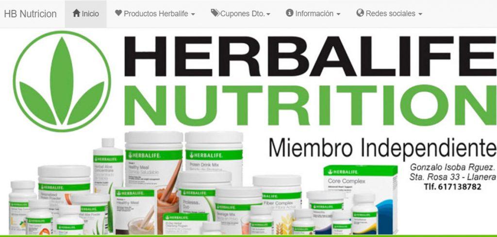 SEO para HB Nutrición - Productos Herbalife